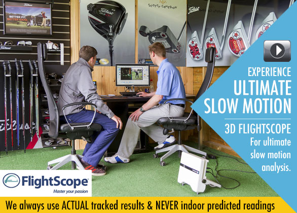 Flightscope 3D tracking system